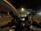 Crazy Ride On Bike... 200km H Through The City