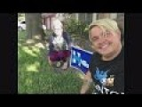 Clinton Sign Swiper - Someone Killed Their Dog Over Hillary Sign?