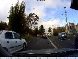 Collision Caught On Dashcam