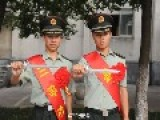 Chinese Military Cadets Issued Swords In Order To Keep Officer's Honor In Combat Situation