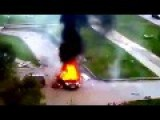 Car Explosion In Russia