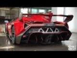Cramming A $4,500,000 Lamborghini Veneno Into A Transport Truck