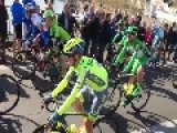 Cyclist Felline Crashes Out Of Amstel Gold Race With Broken Nose