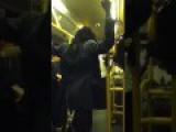 Crazy Lady Flipping Out On The 29 Bus In London