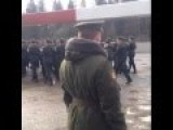 Chinese Soldiers Sing Katyusha In Russian While Marching In Formation