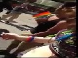 Cop Beats Girl At Pittsburgh Pride Parade