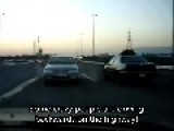 Cars Driving In Reverse On Highway, Or This Is A Mental Hospital