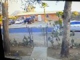 Copper Thief In Tucson...tussles With Fence, Chased By Homeowner