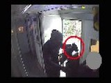 CCTV Armed Attack On Prison Van In Salford Manchester UK
