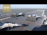 Chinese Carrier Conducts Live Fire Exercise