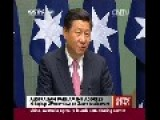 Chinese President Says China Is Big Guy But It Is Peaceful