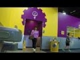 Cross-Dressing At 'Tolerant' Planet Fitness!