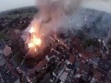 Church Burns Down - Anzegem Belgium