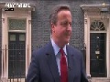 Cameron Chairs Last Cabinet Meeting