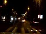 Close Call On Polish Road