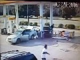 Car Hits Gas Pump, Causing Fiery Crash In Arlington Texas