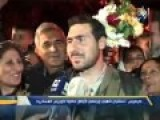 Citizens And Family Members Celebrate Arrival Of Kwairis Heroes In Tartous, Hama, Latakia And Damascus