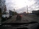 Careless Driver Runs Woman Over At Pedestrian Crossing