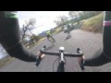Cycling And Hitting A Car On A Blind Corner