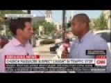 CNN Live Shot Interrupted By Heckler: 'White People Are Terrorists,' 'Obama Is An Uncle Tom!'