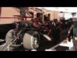 Courtney Force Top Fuel Funny Car Warm Up In Pits HD