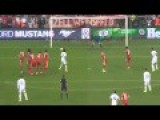 Cristiano Ronaldo Free Kick Goal -Amazing