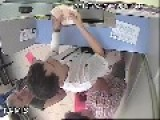 CCTV: Thief Steals From Bank Teller