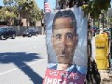 Crazy Woman Screams At Impeach Obama Stand In Santa Cruz, California
