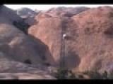 Crown Vic On Hell's Revenge- Moab, Utah