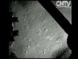 Chinese Lunar Landing From Onboard Camera