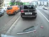 Crash Lexus Window Not Strong Enough !! Best Russian Dash Cam