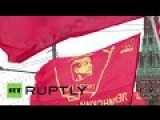 Communists In Russia Rally To Celebrate Worker's Day