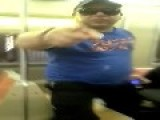 Crazy Guy On NYC Subway