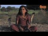 Crazy East Indian Girl And Cobra Snakes