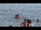 Couple At The Beach Caught Having Sex In The Sea - Brazil