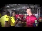 Cristiano Ronaldo Embraced Kids Before The Match Portugal Vs Ghana World Cup 2014