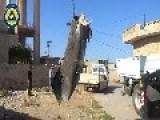 Civil Defense Volunteers Remove One Of The Depraved Dictator's Unexploded Barrel Bombs: Kafr Zita Nov 3rd, '14