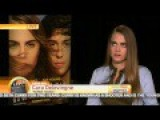 Cara Delevigne Shows Her Grumpy Side On Live American Interview, But It's Not Her Fault
