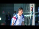 Cristiano Ronaldo Military Salute With Madrid Fan