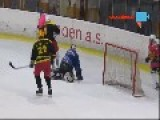 Czech Olympic Goalman Ready