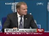 Chinese President Congratulates Polish PM Tusk To Be EU President