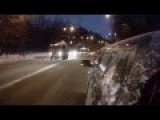 Car Accident In Winter And At Night Compilations