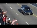 Canadians Pay Tribute Along The Highway Of Heroes