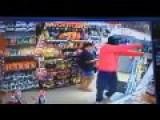 Clerk Shoots Robber, But He Got Away