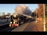 Commuters Were Stunned This Morning To See This Old Steam Locomotive