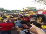 Colombian Mob Smashes Car In Queens, NY After The Uruguay Match