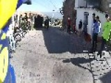 Crazy Downhill Race In Mexican Town