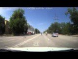 Car Accident With Mototsyklystom Volgograd June 23, 2015