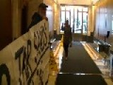 Chesapeake Earth First! Enters Hill And Knowlton Lobby Against Enbridge #9 Tar Sands Pipeline