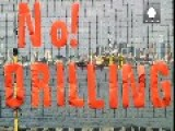 Controversial Drilling Rig Arrives In Seattle Port Under Black Cloud